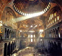 The Hagia Sophia Church in Istanbul
