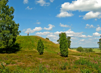 The Ottars Mound at Vendel - click