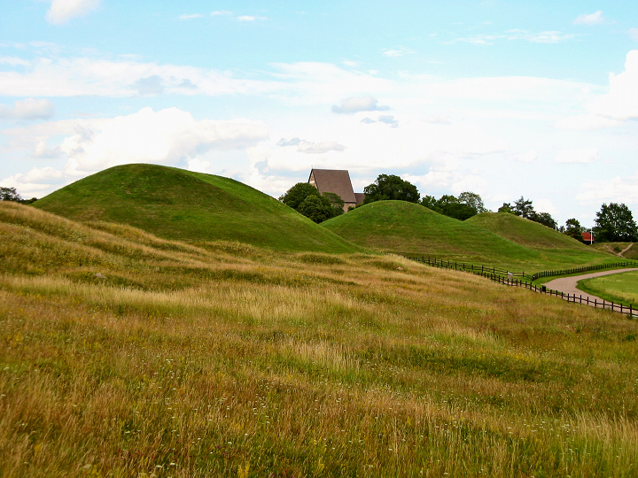 The Uppsala Mounds - click