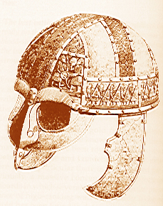 The helmet from Vendel XIV